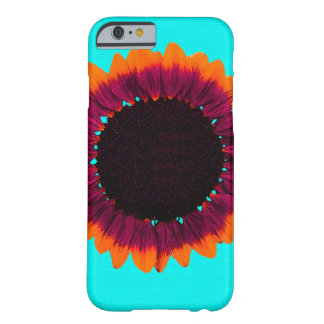 Künstlerische und abstrakte Herbst-Sonnenblume Barely There iPhone 6 Hülle