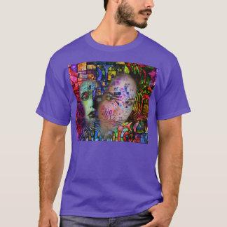 Künstlerische Verwirrung des Gehirn-Nebels T-Shirt