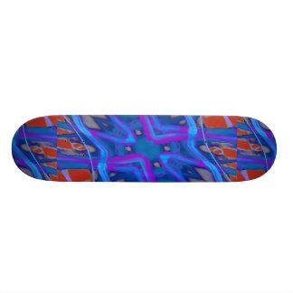 Künstlerische vibrierende Beschaffenheit Personalisiertes Skateboarddeck