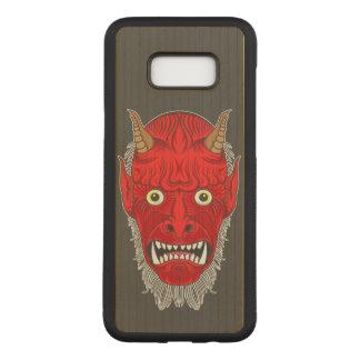 Künstlerischer Dämon Carved Samsung Galaxy S8+ Hülle