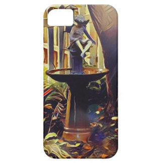 Künstlerischer Engel des hellen Birdbath iPhone 5 Hülle