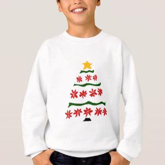 Künstlerischer roter sweatshirt
