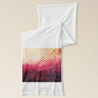 Künstlerischer Vintager rosa Schal