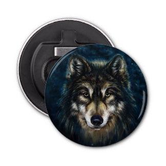 Künstlerischer Wolf-Gesichts-Flaschen-Öffner Flaschenöffner