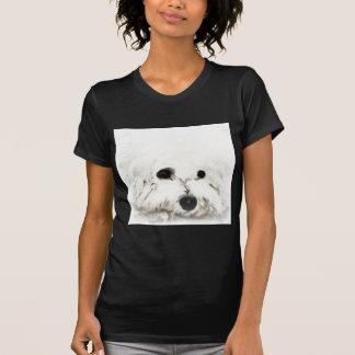 Künstlerisches Bichon Hauptaquarell T-Shirt