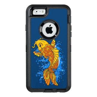 Künstlerisches buntes Koi OtterBox iPhone 6/6s Hülle
