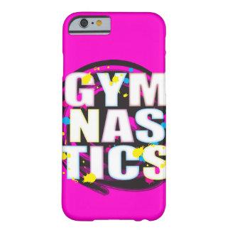 Künstlerisches Gymnastik-Farben-Rosa Barely There iPhone 6 Hülle