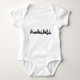 Künstlerisches Habibti Baby Strampler