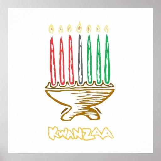 Künstlerisches Kwanzaa Posterdrucke