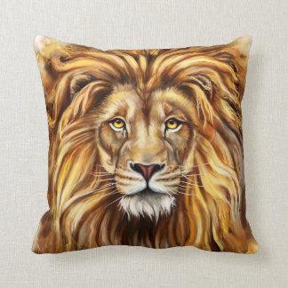 Künstlerisches Löwe-Gesichts-Wurfs-Kissen Kissen