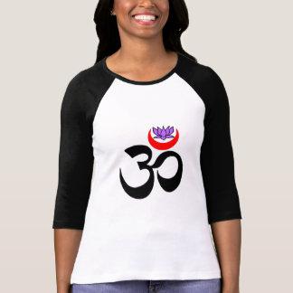 Künstlerisches OM - Lang-Hülse Yoga-Hemden