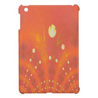 Künstlerisches Pfirsich-Gelb sonnt Traumwelten iPad Mini Hülle