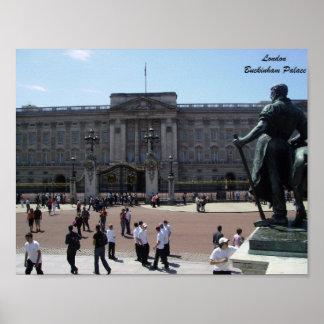 Künstlerisches Plakat Buckingham Palace-Londons