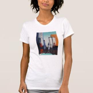Kunstt-stück mit San Francisco Stadtbild T-Shirt