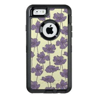 KunstVintager Blumenmusterhintergrund OtterBox iPhone 6/6s Hülle