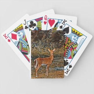 Kunstvolle Rotwild Bicycle Spielkarten
