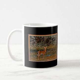 Kunstvolle Rotwild Kaffeetasse