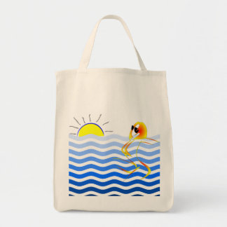 Kunstvolle Strand-Tasche Tragetasche