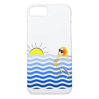 Kunstvoller Strand-Telefon-Kasten iPhone 8/7 Hülle
