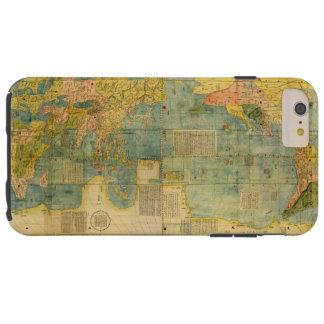 Kunyu Wanguo Quantu 1602 Japaner-Weltkarte Tough iPhone 6 Plus Hülle
