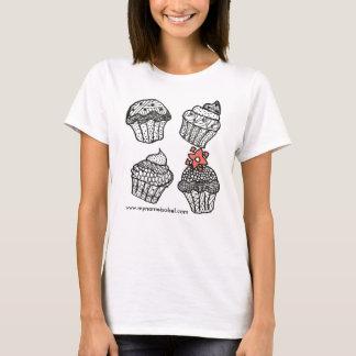 Kupcakes sind kleine Kuchen mit gutem Karma T-Shirt
