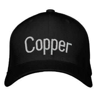 Kupfer Bestickte Kappe