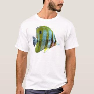 Kupfer-Mit einem Band versehene T-Shirt