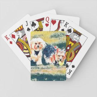 Kupfer-und Penny-Spielkarten Spielkarten