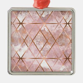 Kupfer X Silbernes Ornament