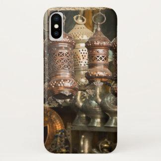 Kupferne Laternen am Markt iPhone X Hülle