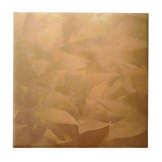 Kupferne metallische Hand gebürstet Keramikfliese