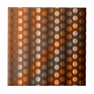 Kupferne Punkte Keramikfliese