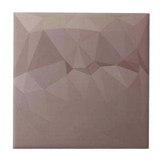 Kupferne Rosen-abstrakter niedriger Fliese