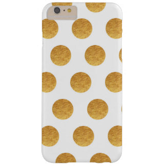 Kupferne und Elfenbein-Tupfen Barely There iPhone 6 Plus Hülle