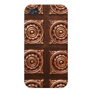 Kupferner Fliesen-Speck-Kasten iPhone 4/4S Cover
