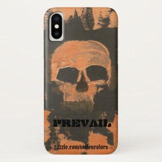 Kupferner Schädel herrschen vor iPhone X Hülle