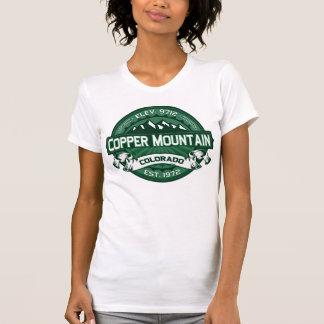 "Kupfernes Gebirgs""Colorado-Grün-"" Logo T-Shirt"
