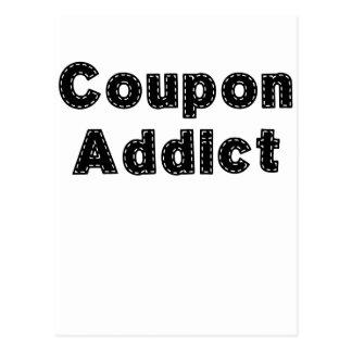 Kupon Addict.png Postkarte