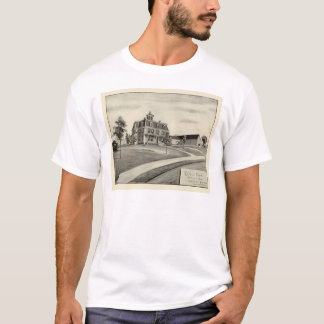 Kuppel-Bauernhof T-Shirt