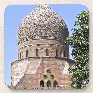 Kuppel einer Moschee in Kairo Getränkeuntersetzer