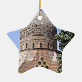 Kuppel einer Moschee in Kairo Keramik Ornament