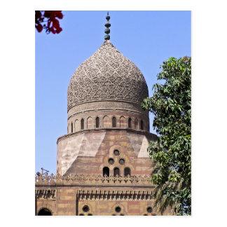 Kuppel einer Moschee in Kairo Postkarte