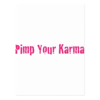 Kuppeln Ihr Karma Postkarte