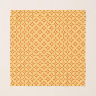 Kürbis-Blume Schal