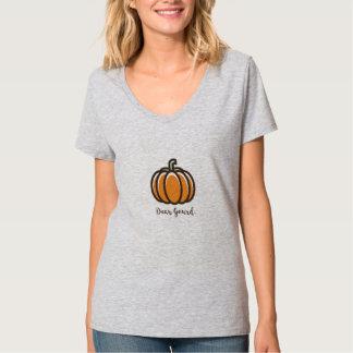 """Kürbis-Entwurfs-Kleidung """"lieben Gourd"""" T-Shirt"""