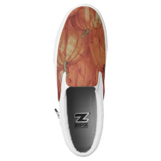 Kürbis-Flecken Slip-On Sneaker