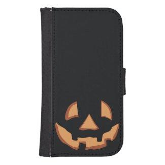 Kürbis für Halloween Galaxy S4 Portmonnaies