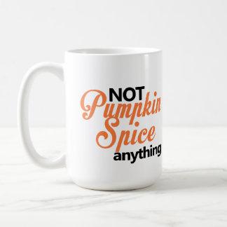 Kürbis-Gewürz-Tasse Kaffeetasse