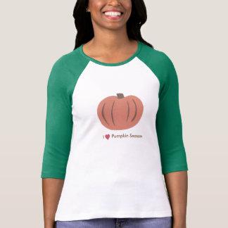 Kürbis-Jahreszeit T-Shirt
