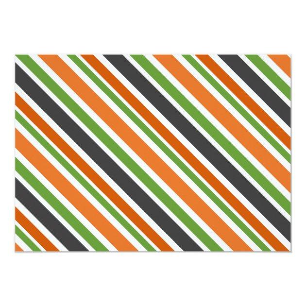 kürbis-katze - halloween-geburtstags-party 12,7 x 17,8 cm, Kreative einladungen
